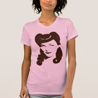 Vintage 1940 s Woman T Shirt