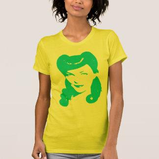 Vintage 1940's Woman (Blue) T-Shirt