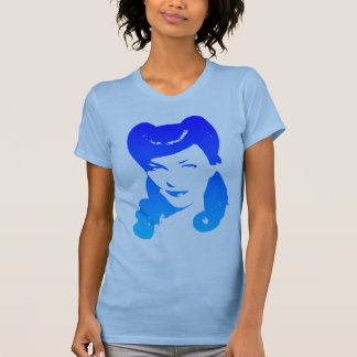 Vintage 1940's Woman (Blue) Tshirts