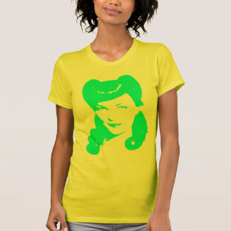 Vintage 1940's Woman (Green) T-Shirt