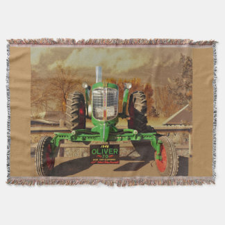 Vintage 1946 Oliver 70 Cosy Throw Blanket