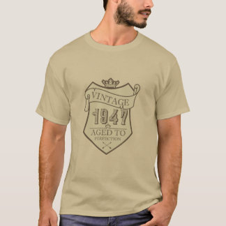 Vintage 1947 - Aged to perfection! T-Shirt
