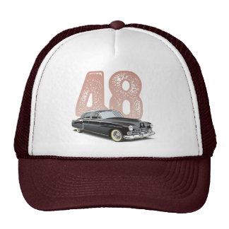 Vintage 1948 Cadillac Coupe: Black classic car Cap