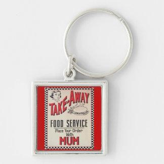 Vintage 1950 Food Service Premium Keychain