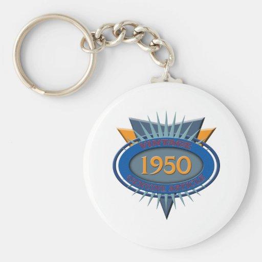 Vintage 1950 keychains