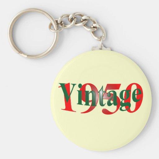 Vintage 1950 key chain