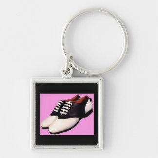 Vintage 1950 Saddle Shoes Premium Keychain
