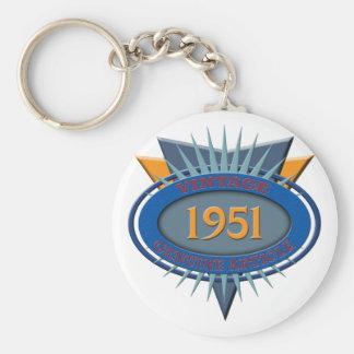 Vintage 1951 key ring