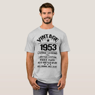 VINTAGE 1953-LIVING LEGEND T-Shirt