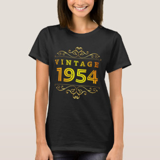 Vintage 1954 Costume. 64th Birthday T-Shirt. T-Shirt