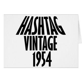 vintage 1954 designs card