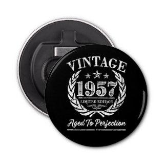 Vintage 1957 - 60th birthday beer bottle opener