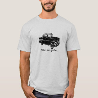 VIntage 1957 Chevy with customizable text. T-Shirt