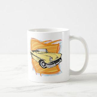 Vintage 1957 Pontiac Muscle Car Coffee Mug