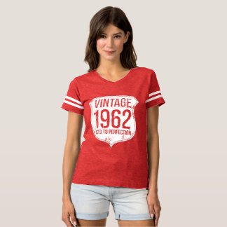 Vintage 1962 Aged To Perfection Shield Tshirt