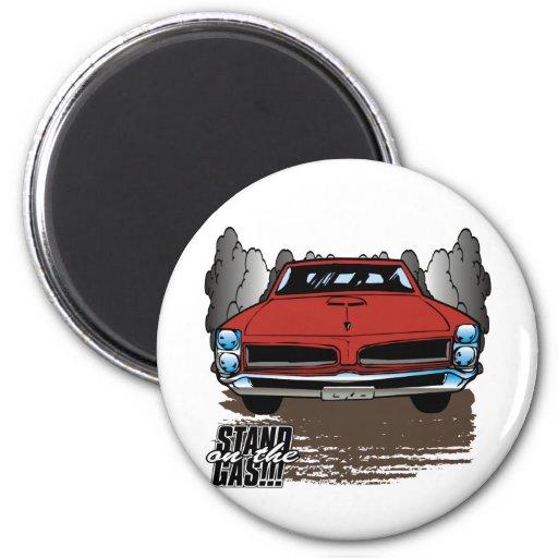 Vintage 1966 GTO Fridge Magnets