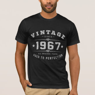 Vintage 1967 Birthday T-Shirt
