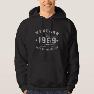 Vintage 1969 Birthday Hoodie