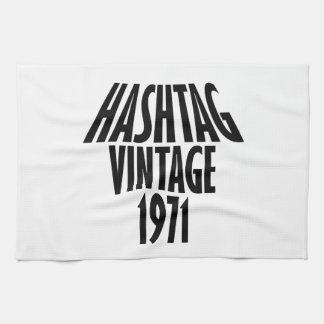 vintage 1969 designs kitchen towel