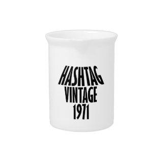 vintage 1969 designs pitchers