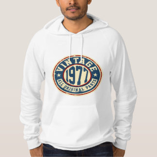 Vintage 1977 All Original Parts Hoodie
