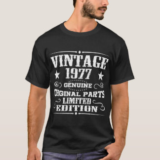 VINTAGE 1977 GENUINE ORIGINAL PARTS LIMITED T-Shirt