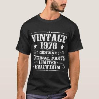 VINTAGE 1978 GENUINE ORIGINAL PARTS LIMITED T-Shirt