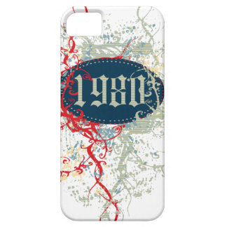 Vintage 1980 Birthday Year iPhone 5 Cover