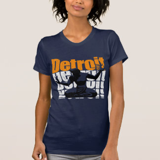 Vintage 1980s DETROIT (Distressed Design) Tees