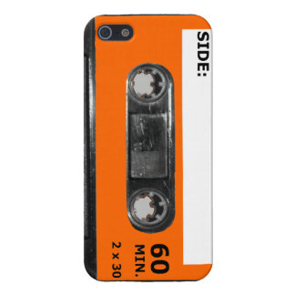 Vintage 1980's Orange Label Cassette iPhone 5 Cover