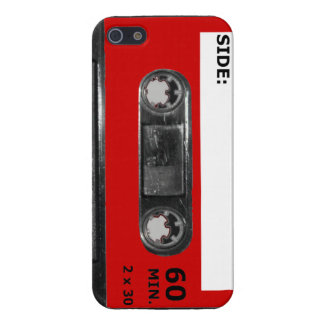 Vintage 1980's Red Label Cassette iPhone 5/5S Cases