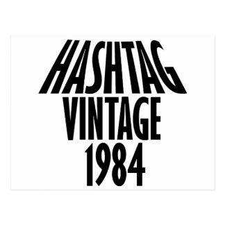 vintage 1984 designs postcard
