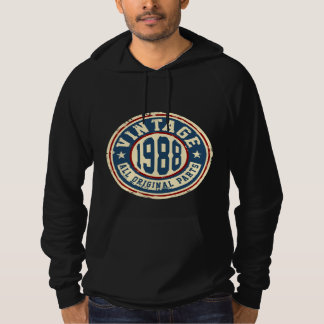Vintage 1988 All Original Parts Hoodie