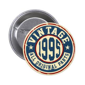 Vintage 1995 All Original Parts 6 Cm Round Badge