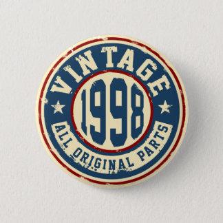 Vintage 1998 All Original Parts 6 Cm Round Badge