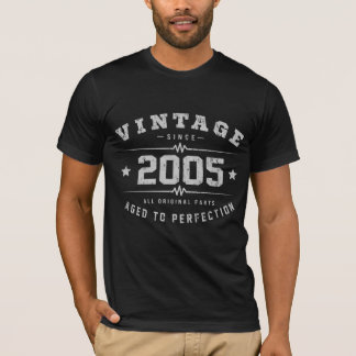 Vintage 2005 Birthday T-Shirt