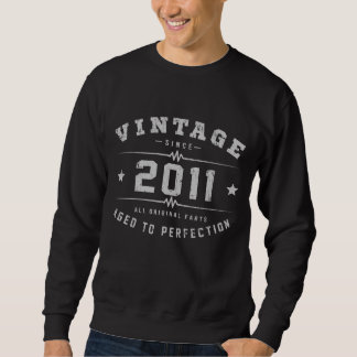 Vintage 2011 Birthday Sweatshirt