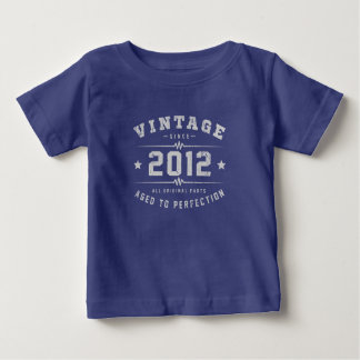 Vintage 2012 Birthday Baby T-Shirt