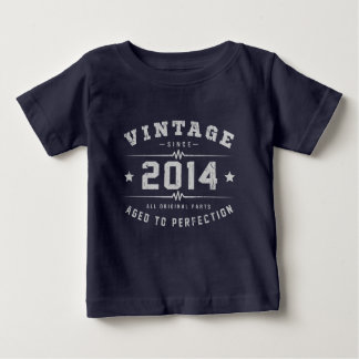 Vintage 2014 Birthday Baby T-Shirt