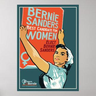 "Vintage 20"" x 28"" Poster Women for Bernie"