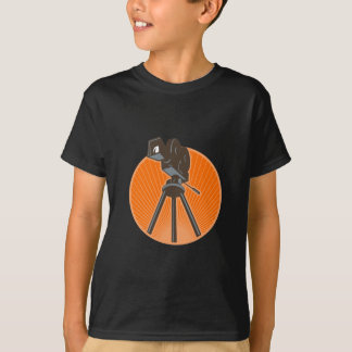 Vintage 35mm Motion Picture Camera Retro T-Shirt