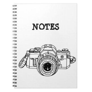 Vintage 35mm SLR Tee Notebooks