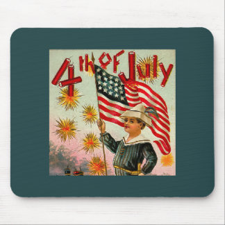 Vintage 4th of July Mousepad
