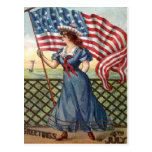 vintage 4th of July Post Cards