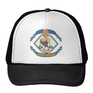 Vintage 50th Birthday Gifts Mesh Hat
