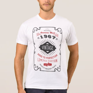 Vintage 50th or 60th Birthday Party Funny Custom T-Shirt