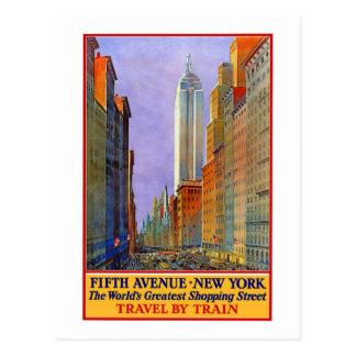 Vintage 5th Ave New York Postcards