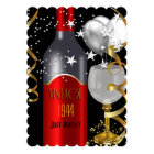 Vintage 70th Birthday Red Wine Black Gold 1944 Card