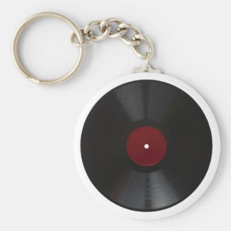 Vintage 78 rpm record transparent PNG Key Ring