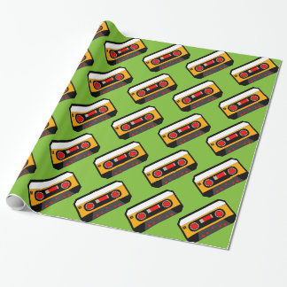 Vintage 80's Cassette Wrapping Paper